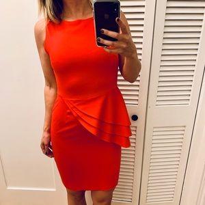 Alice + Olivia Red Cocktail Dress